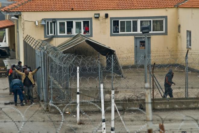 Filakio detention in Evros, north Greece