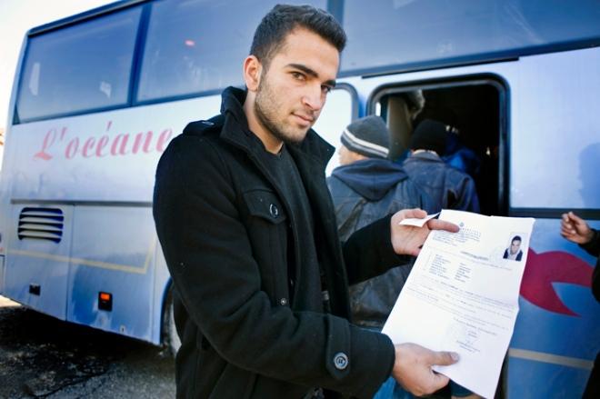 Uhmert Afghan asylum seeker in greece