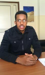 Abdarrazaq, Somali refugee