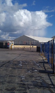 porto empedocle immigration holding centre in Sicily