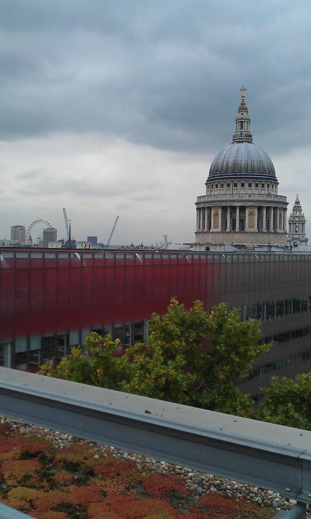 St Pauls, London skyline