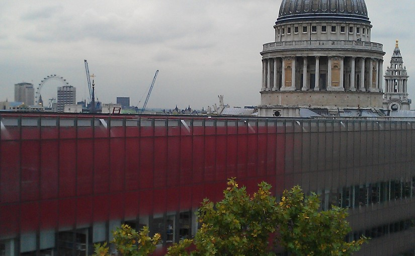 St Pauls, London skyline